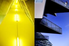 Billeder fra V-huset i Ørestaden