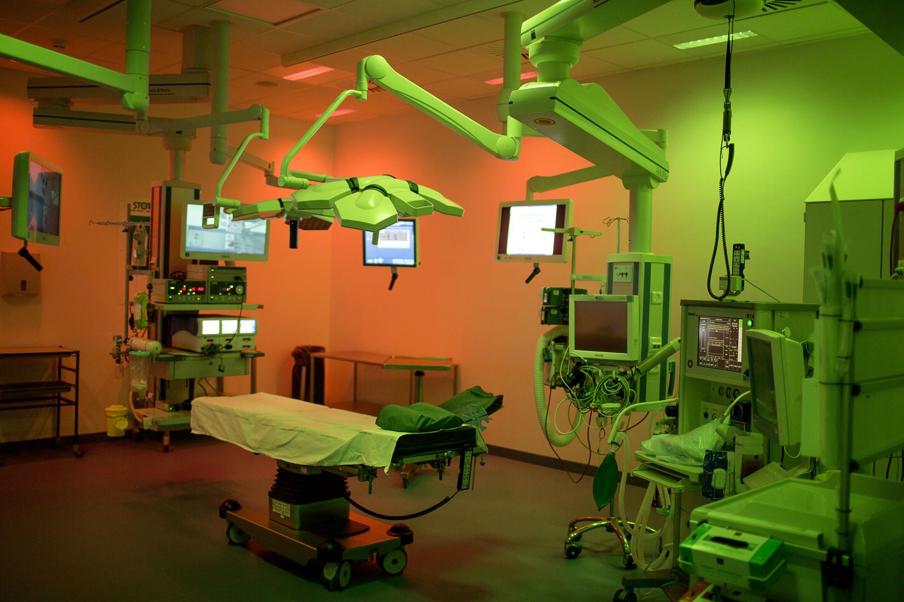 Ny OP stue på organkirurgisk afd. på Kolding sygehus